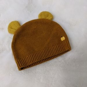 Cashmere baby bear hat